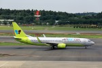 T.Sazenさんが、成田国際空港で撮影したジンエアー 737-8Q8の航空フォト(飛行機 写真・画像)