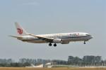 kumagorouさんが、仙台空港で撮影した中国国際航空 737-808の航空フォト(写真)