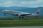 FRTさんが、旭川空港で撮影した日本航空 767-346/ERの航空フォト(飛行機 写真・画像)