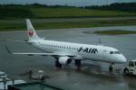 FRTさんが、秋田空港で撮影したジェイ・エア - J-AIR [JLJ]の航空フォト(飛行機 写真・画像)