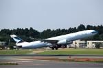 T.Sazenさんが、成田国際空港で撮影したキャセイパシフィック航空 A330-343Xの航空フォト(飛行機 写真・画像)