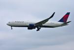 mojioさんが、成田国際空港で撮影したデルタ航空 767-3P6/ERの航空フォト(飛行機 写真・画像)