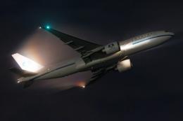 多摩川崎2Kさんが、羽田空港で撮影したクリスタル・ラグジュアリー・エア 777-29M/LRの航空フォト(飛行機 写真・画像)