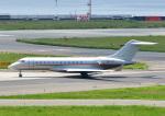 じーく。さんが、関西国際空港で撮影したビスタジェット BD-700-1A10 Global 6000の航空フォト(飛行機 写真・画像)