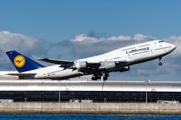 航空フォト:D-ABTK ルフトハンザドイツ航空 747-400