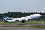 T.Sazenさんが、成田国際空港で撮影したキャセイパシフィック航空 747-467F/ER/SCDの航空フォト(写真)