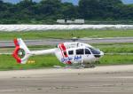 じーく。さんが、長崎空港で撮影した学校法人ヒラタ学園 航空事業本部 EC145T2の航空フォト(飛行機 写真・画像)