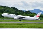 じーく。さんが、長崎空港で撮影した日本航空 767-346の航空フォト(写真)