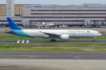 PASSENGERさんが、羽田空港で撮影したガルーダ・インドネシア航空 777-3U3/ERの航空フォト(飛行機 写真・画像)