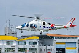 HARUNA2005さんが、群馬ヘリポートで撮影した静岡エアコミュータ AW109SP GrandNewの航空フォト(飛行機 写真・画像)