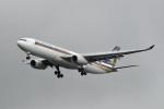 kuro2059さんが、台湾桃園国際空港で撮影したシンガポール航空 A330-343Xの航空フォト(飛行機 写真・画像)