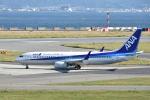 ワイエスさんが、関西国際空港で撮影した全日空 737-881の航空フォト(写真)