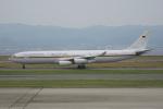 神宮寺ももさんが、関西国際空港で撮影したドイツ空軍 A340-313Xの航空フォト(飛行機 写真・画像)