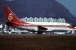 tassさんが、啓徳空港で撮影した香港ドラゴン航空 737-2L9/Advの航空フォト(写真)