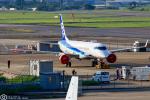 LSGさんが、名古屋飛行場で撮影した三菱航空機 MRJ90STDの航空フォト(写真)