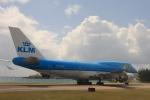 Hiro-hiroさんが、プリンセス・ジュリアナ国際空港で撮影したKLMオランダ航空 747-406の航空フォト(写真)