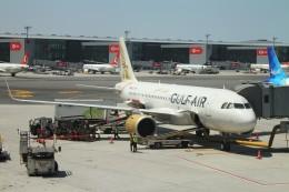 BTYUTAさんが、イスタンブール空港で撮影したガルフ・エア A320-251Nの航空フォト(飛行機 写真・画像)