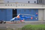 KAZFLYERさんが、東京ヘリポートで撮影した朝日航洋 430の航空フォト(写真)