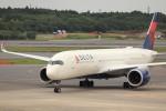 KAZFLYERさんが、成田国際空港で撮影したデルタ航空 A350-941XWBの航空フォト(飛行機 写真・画像)