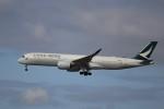 KAZFLYERさんが、成田国際空港で撮影したキャセイパシフィック航空 A350-941XWBの航空フォト(写真)