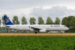ANDさんが、アムステルダム・スキポール国際空港で撮影したエア・アスタナ A321-131の航空フォト(飛行機 写真・画像)