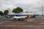 チャッピー・シミズさんが、フェアフォード空軍基地で撮影したオランダ王立空軍 F-16BM Fighting Falconの航空フォト(写真)