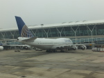 keitsamさんが、上海浦東国際空港で撮影したユナイテッド航空 747-422の航空フォト(写真)