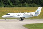 A-Chanさんが、ローリー・ダーラム国際空港で撮影したアメリカ個人所有 560XL Citation XLSの航空フォト(写真)