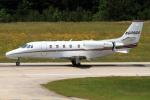 A-Chanさんが、ローリー・ダーラム国際空港で撮影したネットジェッツ・エイビエーション 560XL Citation Excelの航空フォト(写真)
