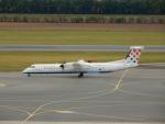 kiyohsさんが、ウィーン国際空港で撮影したクロアチア航空 DHC-8-402Q Dash 8の航空フォト(飛行機 写真・画像)