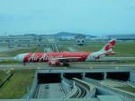 kiyohsさんが、クアラルンプール国際空港で撮影したエアアジア・エックス A330-343Eの航空フォト(飛行機 写真・画像)