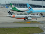kiyohsさんが、関西国際空港で撮影したジェットスター・アジア A320-232の航空フォト(飛行機 写真・画像)