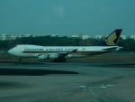 kiyohsさんが、シンガポール・チャンギ国際空港で撮影したシンガポール航空カーゴ 747-412F/SCDの航空フォト(写真)