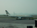 kiyohsさんが、香港国際空港で撮影したエティハド航空 A330-243の航空フォト(飛行機 写真・画像)