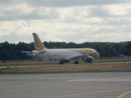 kiyohsさんが、フランクフルト国際空港で撮影したガルフ・エア A320-214の航空フォト(飛行機 写真・画像)
