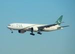 kiyohsさんが、成田国際空港で撮影したパキスタン国際航空 777-240/ERの航空フォト(飛行機 写真・画像)