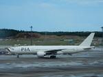 kiyohsさんが、成田国際空港で撮影したパキスタン国際航空 777-2Q8/ERの航空フォト(飛行機 写真・画像)