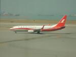 kiyohsさんが、香港国際空港で撮影した上海航空 737-86Dの航空フォト(写真)