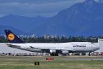 Nori77さんが、バンクーバー国際空港で撮影したルフトハンザドイツ航空 747-430の航空フォト(飛行機 写真・画像)