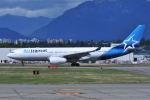 Nori77さんが、バンクーバー国際空港で撮影したエア・トランザット A330-243の航空フォト(飛行機 写真・画像)