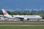 Nori77さんが、バンクーバー国際空港で撮影した日本航空 767-346/ERの航空フォト(飛行機 写真・画像)