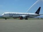 はれ747さんが、稚内空港で撮影した全日空 767-381/ERの航空フォト(写真)