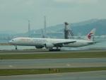 kiyohsさんが、香港国際空港で撮影した中国東方航空 777-39P/ERの航空フォト(飛行機 写真・画像)