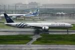 ばっきーさんが、羽田空港で撮影したガルーダ・インドネシア航空 777-3U3/ERの航空フォト(写真)