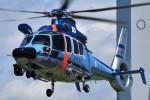 ミルハスさんが、東京ヘリポートで撮影したエアバス・ヘリコプターズ・ジャパン EC155B1の航空フォト(写真)