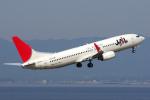 yabyanさんが、中部国際空港で撮影したJALエクスプレス 737-846の航空フォト(飛行機 写真・画像)