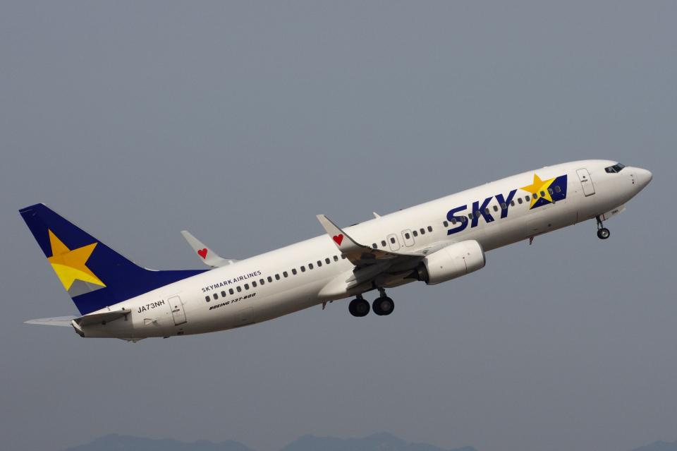 yabyanさんのスカイマーク Boeing 737-800 (JA73NH) 航空フォト