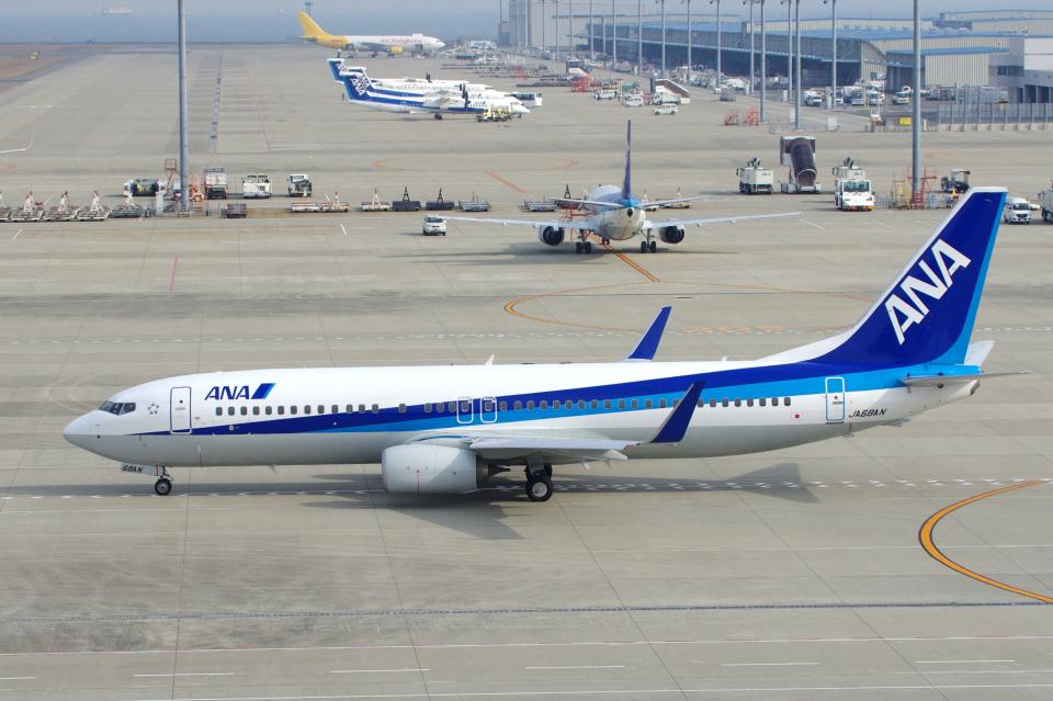 yabyanさんの全日空 Boeing 737-800 (JA68AN) 航空フォト