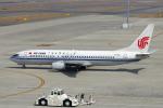 yabyanさんが、中部国際空港で撮影した中国国際航空 737-8Q8の航空フォト(写真)