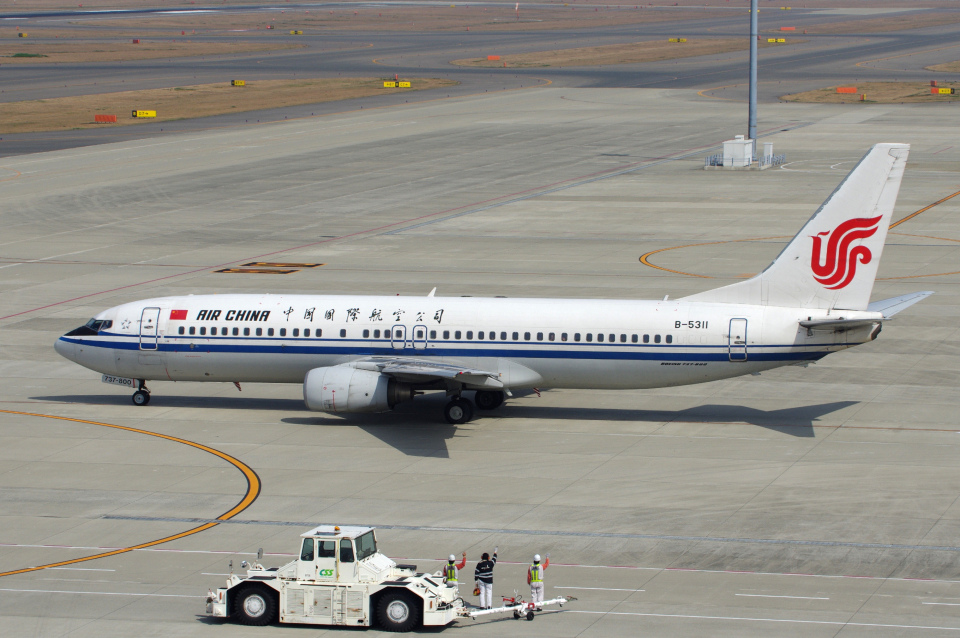 yabyanさんの中国国際航空 Boeing 737-800 (B-5311) 航空フォト